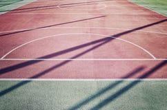 Chiuda sull'immagine di un campo da gioco all'aperto Fotografia Stock Libera da Diritti
