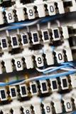 connettore di Isolamento-spostamento Immagini Stock