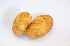 Chiuda sulla patata con tutto il dettaglio Fotografie Stock Libere da Diritti