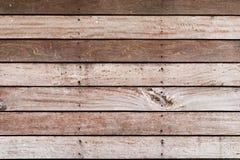 Chiuda sulla plancia di legno con il chiodo per fondo, carta da parati Immagini Stock Libere da Diritti