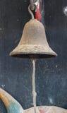 Chiuda sulla vecchia campana Immagini Stock