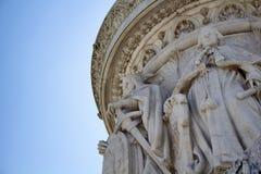 Chiuda sulla vista delle statue Fotografia Stock Libera da Diritti
