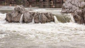 Chiuda sulla vista intima di una cascata Fotografia Stock Libera da Diritti