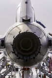 Chiuda sulla vista posteriore del motore a propulsione Fotografia Stock Libera da Diritti