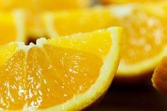 Chiuda sulle arance Immagine Stock Libera da Diritti