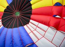 Chiuda sulle bande variopinte del paracadute Fotografie Stock Libere da Diritti