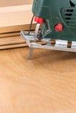 Chiuda sullo strumento elettrico del puzzle Fotografia Stock