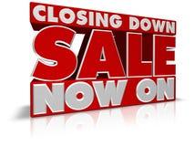 Chiudendo vendita ora sopra royalty illustrazione gratis