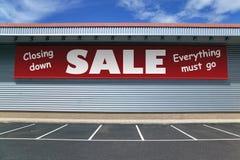 Chiudere vendita Fotografia Stock