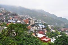 chiufen сельская местность сценарный taiwan Стоковое фото RF