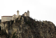 Chiusa castle - Italy Royalty Free Stock Images