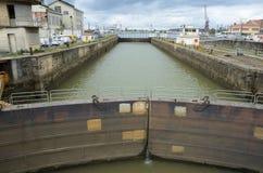 Chiusa nel bacino del Bordeaux Fotografie Stock