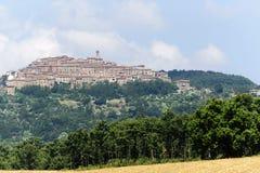 Chiusdino (Toscanië) royalty-vrije stock foto
