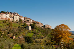 Chiusdino, Toscanië royalty-vrije stock fotografie