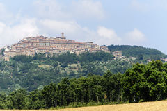 Chiusdino (Toskana) Lizenzfreies Stockfoto