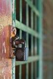 Chiuso a chiave in su Fotografie Stock