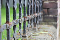 Chiusura d'acciaio Fotografia Stock