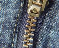 Chiusura lampo dei pantaloni Immagine Stock
