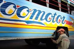 Chiva επισκευή. Κολομβία Στοκ Φωτογραφία