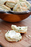 Chive Biscuits Royalty Free Stock Photography