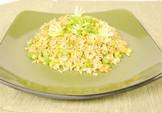 Chive rice Stock Photo