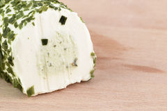 Chives cheese Royalty Free Stock Images