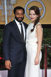 Chiwetel Ejiofor & Sari Mercer Stock Photo