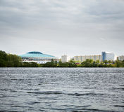 Chizhovka Arena in Minsk, Belarus. Stock Photography