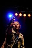 Chk Chk Chk (!!!) band perfoms at Sant Jordi Club stage Royalty Free Stock Image