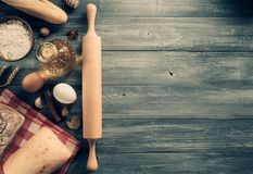 Chlebów i piekarni produkty Zdjęcie Stock