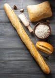Chlebów i piekarni produkty Zdjęcie Royalty Free