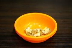 Chlebów kawałki Fotografia Stock
