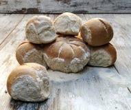 Chlebów kawałki Obrazy Royalty Free