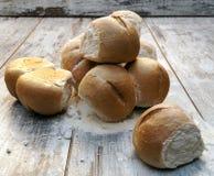 Chlebów kawałki Zdjęcie Stock