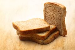 Chlebów plasterki Zdjęcia Stock