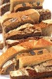 Chlebów plasterki Fotografia Royalty Free