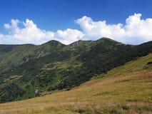 Chleb峰顶在夏天 库存照片