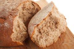 chleb łamający kawałki obraz stock