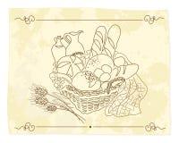 chleb royalty ilustracja