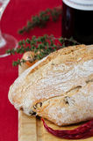 chleb doprawiająca bochenka oliwka Zdjęcie Stock