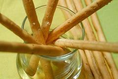 chleb grissini we włoszech Obrazy Stock