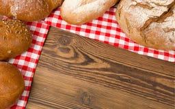Chleb i babeczki Zdjęcia Royalty Free