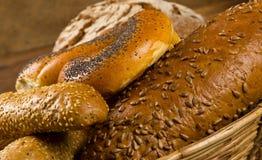 Chleb i babeczki Fotografia Royalty Free