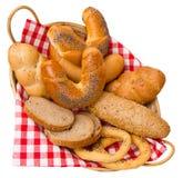 Chleb i babeczki Obraz Stock
