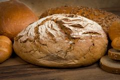 Chleb i babeczki Obrazy Royalty Free