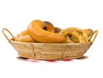 Chleb i babeczki Zdjęcia Stock
