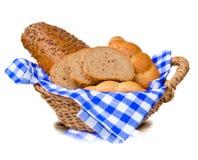 Chleb i babeczki Fotografia Stock