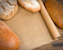 Chleb i babeczki Zdjęcie Royalty Free