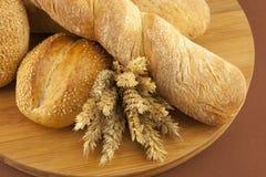 Chleb i ciasta Obrazy Stock