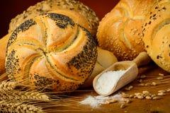 Chleb i ciasto Fotografia Stock